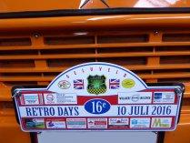 Retro days 2016 - 10 juli 2016